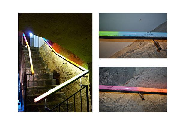 Beleuchteter Handlauf - Haus Hoevener Brilon / Bildwerk