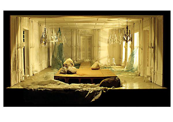 Modellbeleuchtung Ariadne auf Naxos - Jürgen Rose