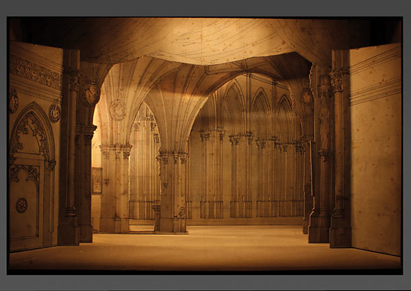 Angelo Quaglio - Faust / Dom - 1875 Nationaltheater München